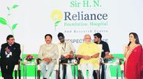 Modi unveils Reliance hospital, pitches for FDI in equipment manufacturing