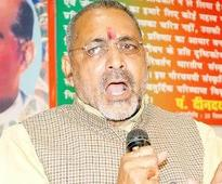 FIR against Giriraj for his 'Modi critics must go to Pak' remark