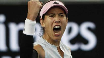 Rediff Cricket - Indian cricket - Garbine Muguruza wins record Australian Open 2019 late show