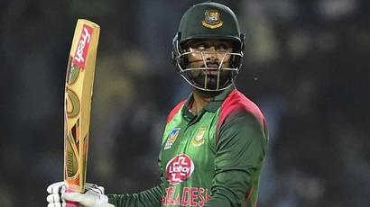 Rediff Sports - Cricket, Indian hockey, Tennis, Football, Chess, Golf - Tamim Iqbal, Soumya Sarkar shine as Bangladesh cruise to series win over Windies