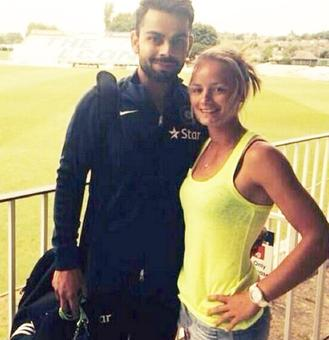 Rediff Cricket - Indian cricket - Remember the English cricketer who proposed to Virat Kohli?