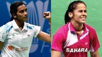 Rediff Sports - Cricket, Indian hockey, Tennis, Football, Chess, Golf - PV Sindhu wins, Saina Nehwal bows out of Badminton Asia Championships