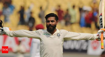 Rediff Sports - Cricket, Indian hockey, Tennis, Football, Chess, Golf - Ravindra Jadeja doesn't need to compete with anyone, says coach