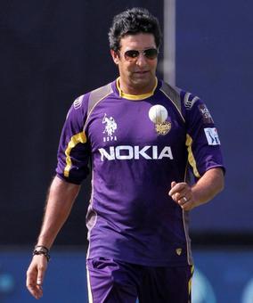 Rediff Cricket - Indian cricket - KKR bowling coach Akram to skip IPL next year