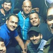 Rediff Sports - Cricket, Indian hockey, Tennis, Football, Chess, Golf - This picture shows why MS Dhoni will always remain the people's captain