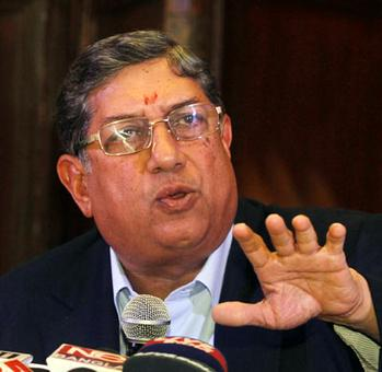 Srinivasan set for BCCI probe; might be ousted from ICC