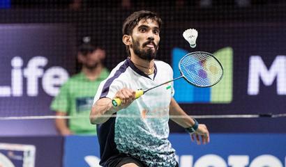Rediff Sports - Cricket, Indian hockey, Tennis, Football, Chess, Golf - Srikanth sails into Denmark Super Series final