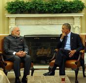 Modi, Obama vow to take ties to new levels