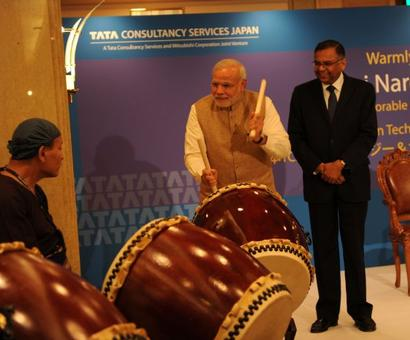 In Japan, PM Modi is drumming up quite the buzz