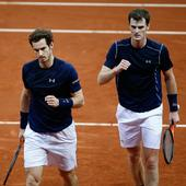 Davis Cup final: Murray brothers put Great Britain within touching distance of historic silverware