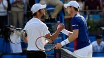 Rediff Sports - Cricket, Indian hockey, Tennis, Football, Chess, Golf - Queen's Open: World no 90 Jordan Thompson causes shocking 1st round ouster of Andy Murray