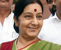 Sushma Swaraj calls on Merkel, meets her German counterpart