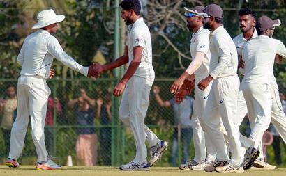 Rediff Cricket - Indian cricket - Ranji Trophy: Kerala makes history, enters maiden semis