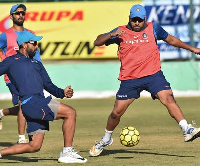 Rediff Cricket - Indian cricket - Rahane's form a worry as India aim another clean sweep vs SL