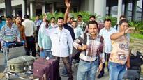 61 Indians arrive from Iraq
