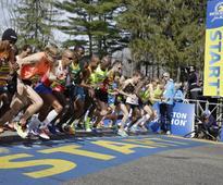 Two years on, Boston Marathon survivor finishes race with prosthetic leg