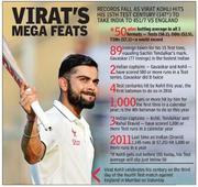 Rediff Cricket - Indian cricket - Mumbai Test: Milestone man Virat Kohli