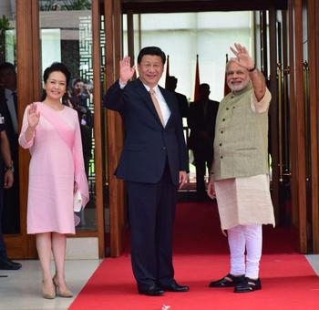 PHOTOS: Modi plays perfect host to China's Xi in Gujarat