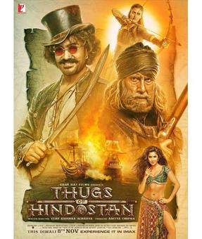 Current Bollywood News & Movies - Indian Movie Reviews, Hindi Music & Gossip - Thugs of Hindostan`s new poster unveiled!