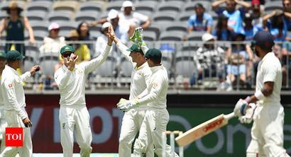 Rediff Sports - Cricket, Indian hockey, Tennis, Football, Chess, Golf - Umpires' soft signal forces hard look at Kohli's dismissal