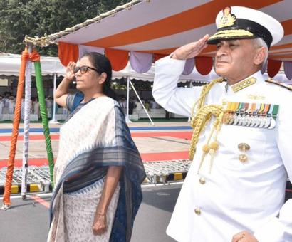 Sitharaman commissions made in India INS Kiltan