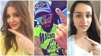 BMC Elections 2017 | From Anushka Sharma to Ranveer Singh: Here are the celebs who've cast their vote!
