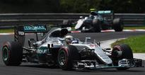 F1 2016: Hamilton pips Rosberg in HungarianGP to take championship lead
