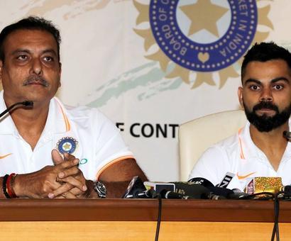 Rediff Cricket - Indian cricket - India 'taking no prisoners' against Australia, says Shastri