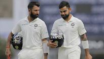Rediff Cricket - Indian cricket - Cheteshwar Pujara as good as Virat Kohli in Tests: Sourav Ganguly