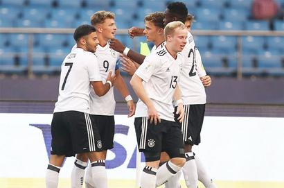 FIFA U-17 WC: Weah 'tricks' as US whip Paraguay; Germany rout Colombia