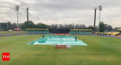 Rediff Sports - Cricket, Indian hockey, Tennis, Football, Chess, Golf - Final South Africa-Zimbabwe T20I abandoned