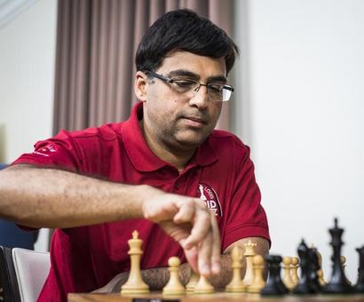 Rediff Sports - Cricket, Indian hockey, Tennis, Football, Chess, Golf - Tata Steel chess: Anand draws with Karjakin, Carlsen beats Adhiban