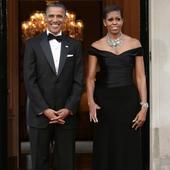 POTUS Barack Obama celebrates 54th birthday at Rose's Luxury restaurant in Washington