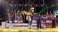 India conjure epic comeback against Iran to land hat-trick of Kabaddi World Cup titles