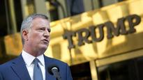 NYC mayor blames Trump, hate speech for rise in hate crimes