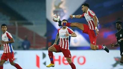 Rediff Sports - Cricket, Indian hockey, Tennis, Football, Chess, Golf - ISL 2018: Balwant, Maimouni score as ATK edge out Dynamos for first win