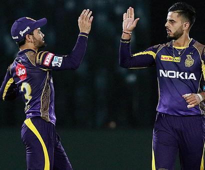 Rediff Sports - Cricket, Indian hockey, Tennis, Football, Chess, Golf - Heroes of the Game: Spinners turn it for KKR
