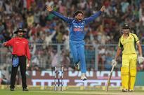 Rediff Cricket - Indian cricket - Kuldeep gets hat-trick as India take 2-0 lead