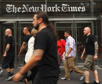 New York Times tops Trump's 'Fake News' awards