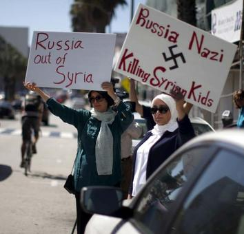 From 1500 km away, Russia bombards Islamic State in Syria