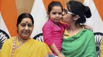 Thrilled to breathe air of freedom, there's no place like India: Uzma after her ordeal in Pakistan