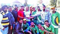 YCC Poonch lifts District Tennis Ball trophy