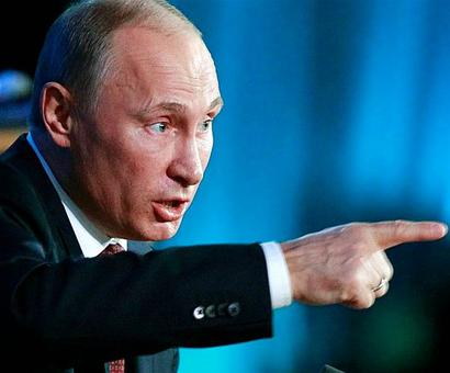 Russian crisis: Putin talks smooth but offers no cure