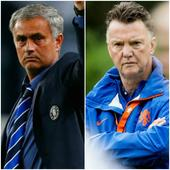 Manchester United coach Louis Van Gaal admits Chelsea boss Jose Mourinho is 'a better manager'