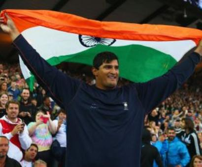 Gowda wins discuss throw event, gives India 1st athletics gold