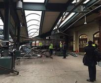 New Jersey train rams into station, kills bystander, injures 108 others