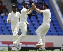 Live: 200 up for WI, India sweat to wipe out tail