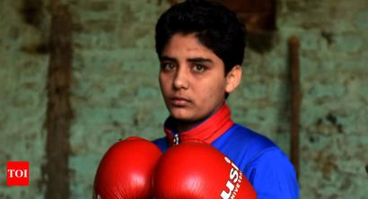 Rediff Sports - Cricket, Indian hockey, Tennis, Football, Chess, Golf - India's boxing challenge over at Youth Olympics