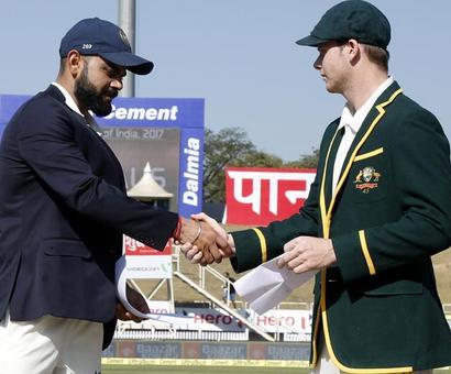 Rediff Sports - Cricket, Indian hockey, Tennis, Football, Chess, Golf - Watch: ICC honours for Kohli, Smith
