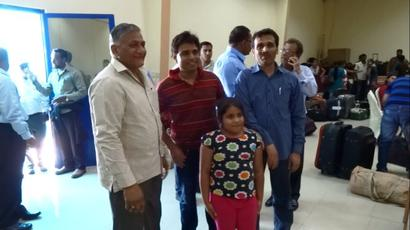 Indians nationals evacuated from strife-torn Yemen to return home